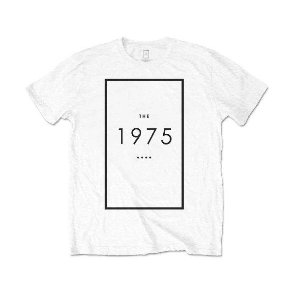 画像1: The 1975 バンドTシャツ ザ・ナインティーンセヴンティファイヴ Original Logo WHITE (1)
