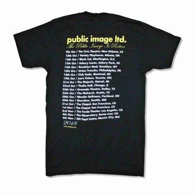 画像1: PiL Public Image Ltd バンドTシャツ パブリック・イメージ・リミテッド Yellow Logo