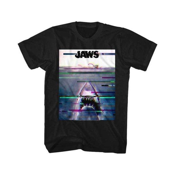 画像1: Jaws ムービーTシャツ ジョーズ Glitchy (1)