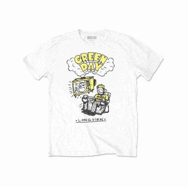画像1: Green Day バンドTシャツ グリーン・デイ Longview Doodle (1)