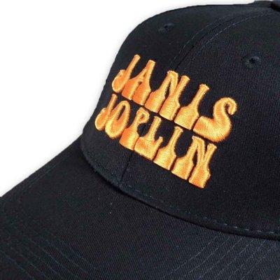画像1: Janis Joplin スナップバックキャップ ジャニス・ジョプリン Orange Logo