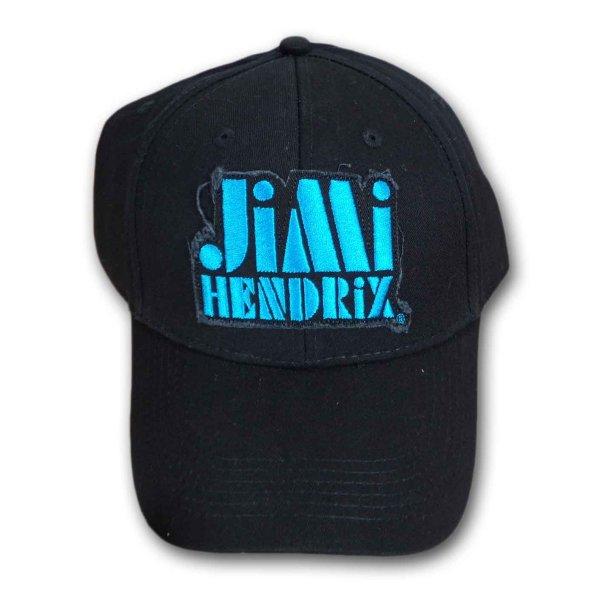 画像1: Jimi Hendrix スナップバックキャップ ジミ・ヘンドリックス Blue Logo (1)