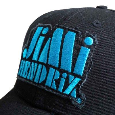 画像1: Jimi Hendrix スナップバックキャップ ジミ・ヘンドリックス Blue Logo