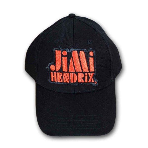 画像1: Jimi Hendrix スナップバックキャップ ジミ・ヘンドリックス Orange Logo (1)