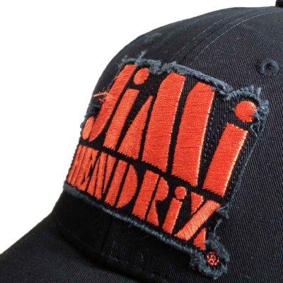 画像1: Jimi Hendrix スナップバックキャップ ジミ・ヘンドリックス Orange Logo
