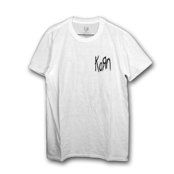 画像1: Korn バンドTシャツ コーン Scratched Type (1)