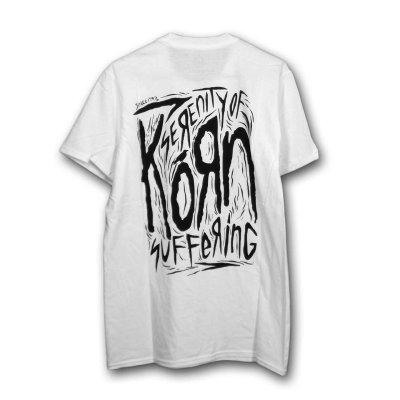 画像1: Korn バンドTシャツ コーン Scratched Type