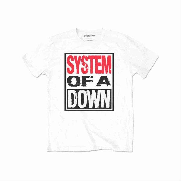 画像1: System Of A Down バンドTシャツ システム・オブ・ア・ダウン Triple Stack Box (1)