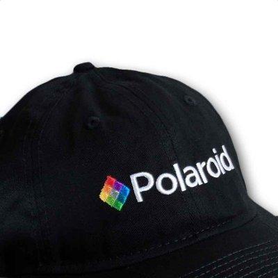 画像1: Polaroid ストラップバックキャップ ポラロイド Logo