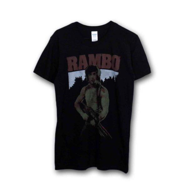 画像1: Rambo ムービーTシャツ ランボー Real Rambo (1)