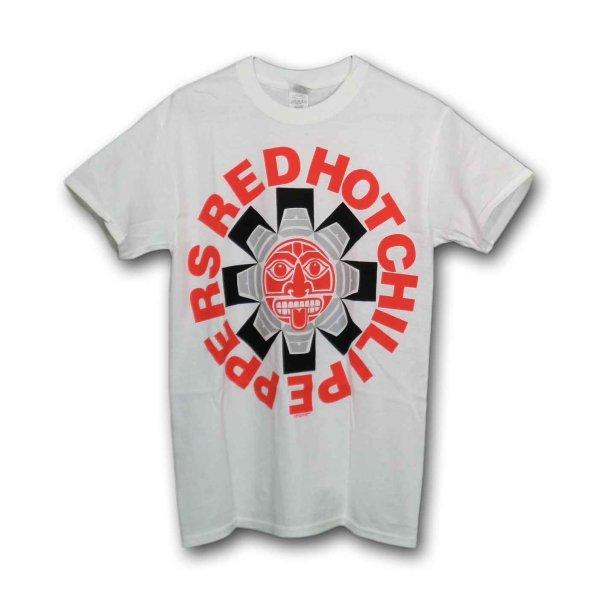 画像1: Red Hot Chili Peppers バンドTシャツ レッド・ホット・チリ・ペッパーズ Aztec (1)
