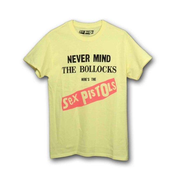 画像1: Sex Pistols バンドTシャツ セックス・ピストルズ Album Cover YELLOW (1)