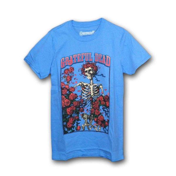 画像1: Grateful Dead バンドTシャツ グレイトフル・デッド Bertha & Logo BLUE (1)