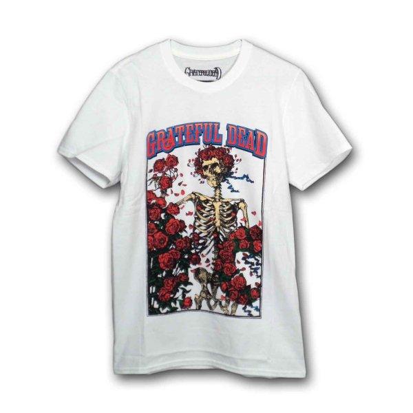 画像1: Grateful Dead バンドTシャツ グレイトフル・デッド Bertha & Logo WHITE (1)