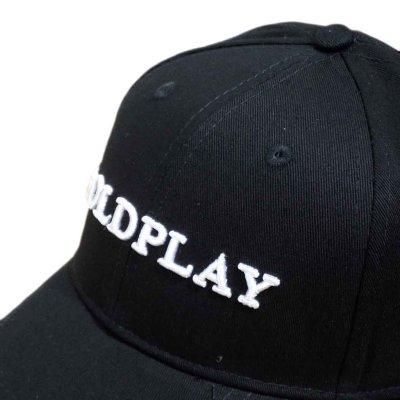 画像1: Coldplay スナップバックキャップ コールドプレイ White Logo