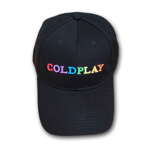 画像1: Coldplay スナップバックキャップ コールドプレイ Rainbow Logo (1)