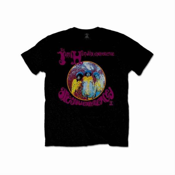 画像1: Jimi Hendrix Tシャツ ジミ・ヘンドリックス Are You Experienced BLACK (1)