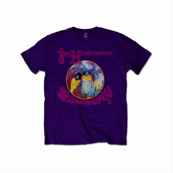 画像1: Jimi Hendrix Tシャツ ジミ・ヘンドリックス Are You Experienced PURPLE (1)