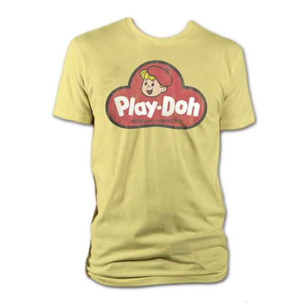 画像1: Play-Doh Tシャツ プレイ・ドー Logo (1)