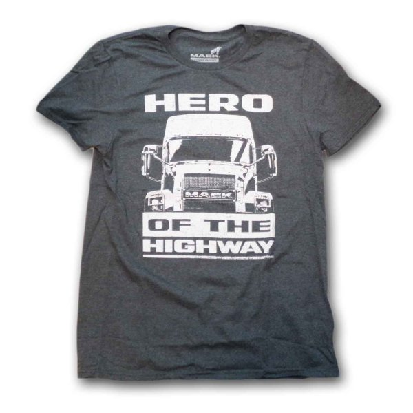 画像1: Mack Trucks Tシャツ マック・トラック Hero Of The Highway (1)