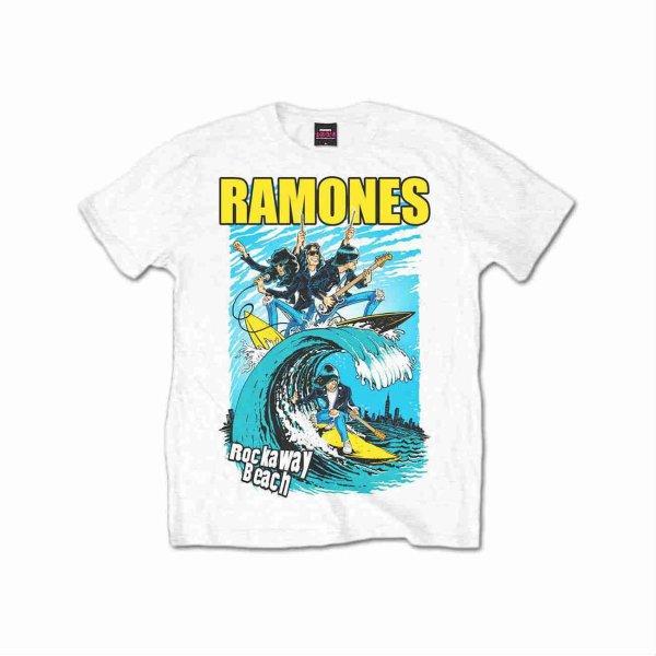 画像1: Ramones バンドTシャツ ラモーンズ Rockaway Beach (1)