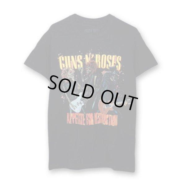 画像1: Guns N' Roses バンドTシャツ ガンズ・アンド・ローゼス Appetite For (1)