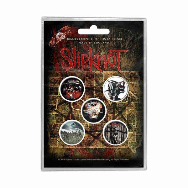 画像1: Slipknot バッジ5個セット スリップノット Albums (1)