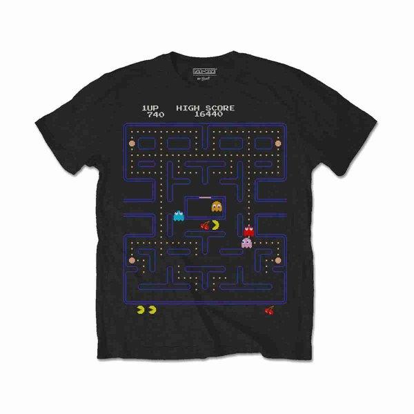 画像1: Pac-Man ゲームTシャツ パックマン Game Screen (1)