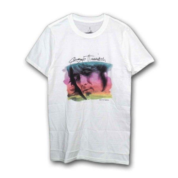 画像1: George Harrison Tシャツ ジョージ・ハリスン Water Color Portrait (1)