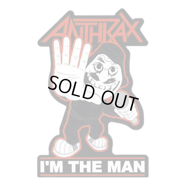 画像1: Anthrax ステッカー アンスラックス I'm The Man (1)