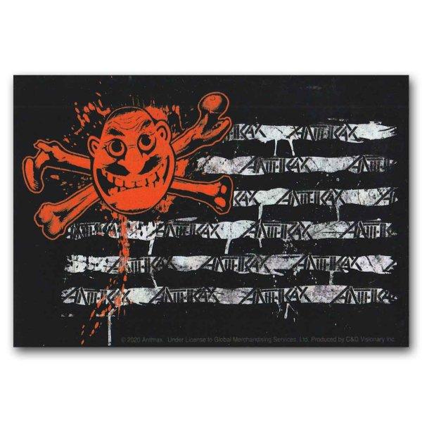 画像1: Anthrax ステッカー アンスラックス Flag (1)
