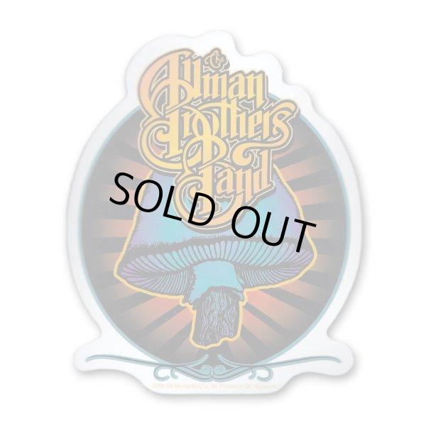 画像1: Allman Brothers Band ステッカー オールマン・ブラザーズ・バンド Radiant Shroom (1)