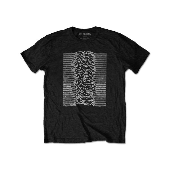 画像1: Joy Division バンドTシャツ ジョイ・ディヴィジョン Unknown Pleasures Front&Back (1)