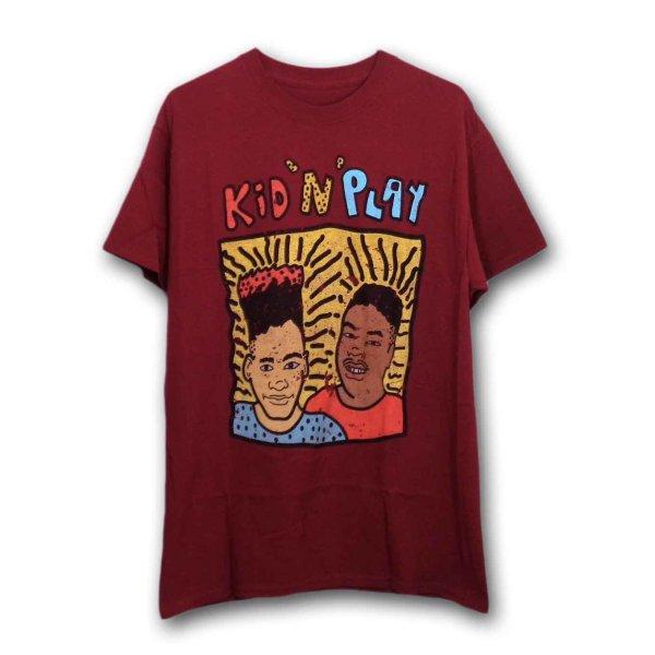 画像1: Kid 'N Play Tシャツ キドゥンプレイ 80's Distressed (1)