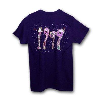 画像1: Prince Tシャツ プリンス 1999 Purple