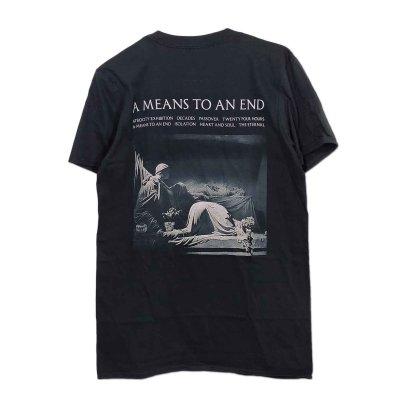 画像1: Joy Division バンドTシャツ ジョイ・ディヴィジョン A Means To An End