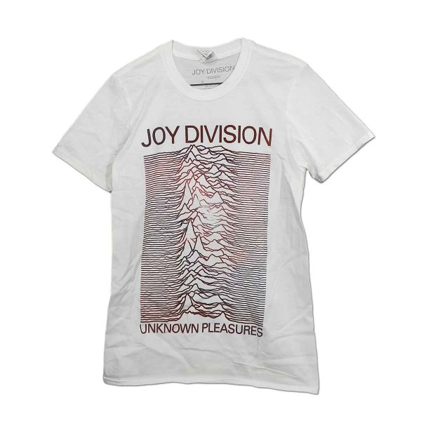 画像1: Joy Division バンドTシャツ ジョイ・ディヴィジョン Unknown Pleasures Gradient (1)