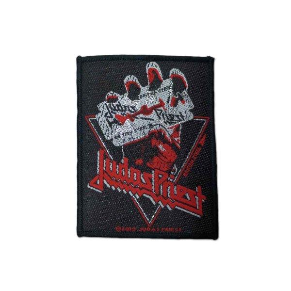画像1: Judas Priest パッチ/ワッペン ジューダス・プリースト British Steel Vintage (1)