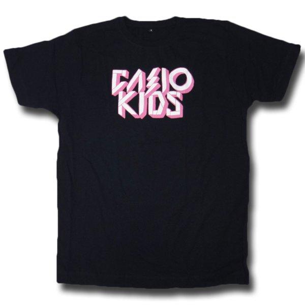 画像1: Casiokids カシオキッズ Pink Logo Tシャツ<セール特価商品> (1)