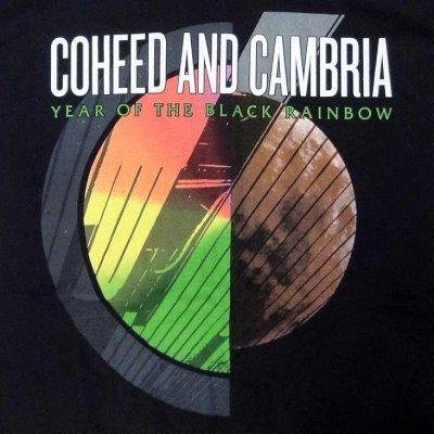 画像1: Coheed And Cambria コヒード&カンブリア Black Rainbow Tシャツ<セール特価商品>