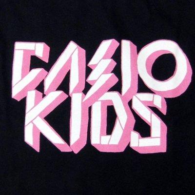 画像1: Casiokids カシオキッズ Pink Logo Tシャツ<セール特価商品>