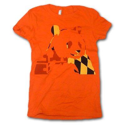 画像2: Panda Bear パンダ・ベアー Orange Panda Tシャツ (GM)<セール特価商品>