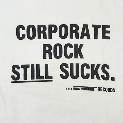 画像1: SST Records Corporate Tシャツ